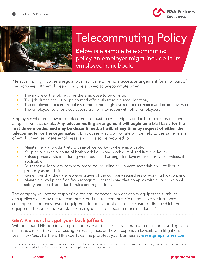 GAPartners_Telecommuting-Policy